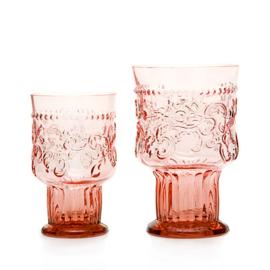 Van Verre Fleur de Lys Fijnzinnig Glaswerk Bokaal L pink