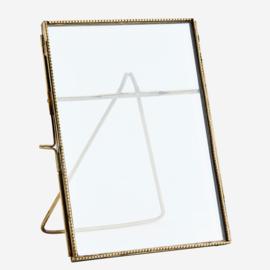 MadamStoltz fotolijst staand Antique Brass 13 x 18 cm