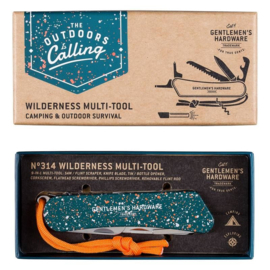 Gentlemen's Hardware Wildernis Multitool
