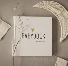 Babyboek hart - invulboek