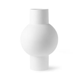 HKliving Matt white Vase M