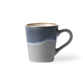 HKliving ceramic 70's espresso mug Ocean