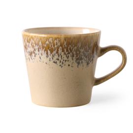 HKliving | 70's Ceramic Cappucino mug | Bark
