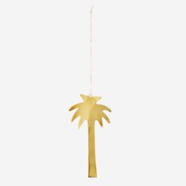 Madam Stoltz gouden hanger Palm