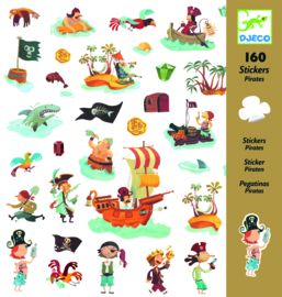 "Djeco Stickers ""Pirates"""