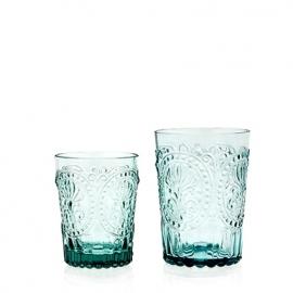 Van Verre Fleur de Lys Fijnzinnig glaswerk Wijn/waterglas S blue