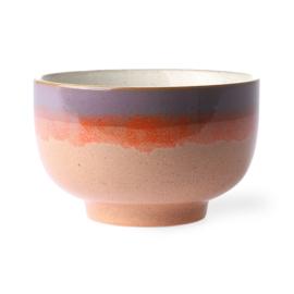 HKliving Ceramic 70's bowl Sunset