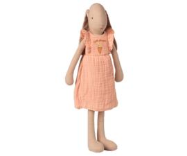 Maileg Bunny dress Rose Size 3 | Konijn in roze jurk maat 3