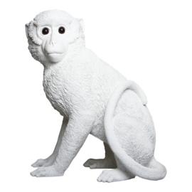 & Klevering Coinbank Monkey white | Spaarpot Aap wit