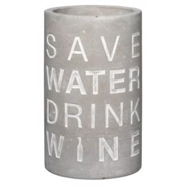 Räder Wijnkoeler Save Water Drink Wine