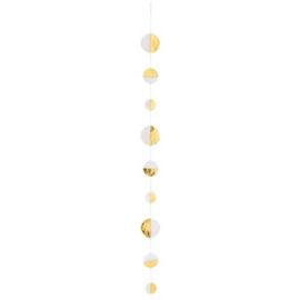 Räder guirlande half goud