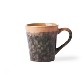 HKliving ceramic 70's espresso mug Lava