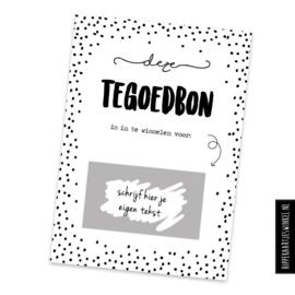 Kraskaart - DIY TeGoedBon