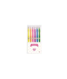 Djeco LovelyPaper Neon Gelpennen | 6 stuks