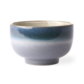 HKliving Ceramic 70's bowl Ocean