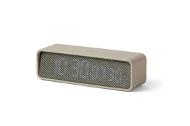 Lexon OSLO TIME khaki / light grey