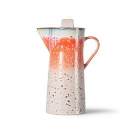 HKliving | 70's Ceramic coffee pot / koffiepot | Asteroids