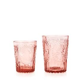 Van Verre Fleur de Lys Fijnzinnig glaswerk Water/Wijnglas S Pink