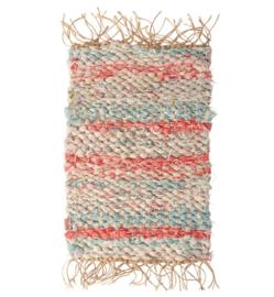 Maileg Rug woven | Vloerkleed pastel