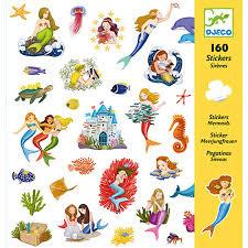 "Djeco Stickers ""Mermaids"""