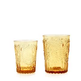 Van Verre Fleur de Lys Fijnzinnig Glaswerk Water/wijnglas S amber