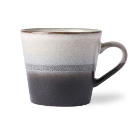 HKliving Ceramic 70's  cappuccino mug Rock