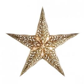 Starlightz Papieren Ster Geeta goud glitter