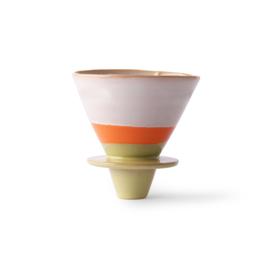 HKliving Ceramic 70s Coffee Filter