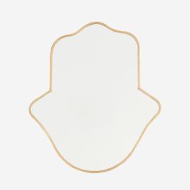Madam Stoltz Hanging mirror 26,5x30 cm