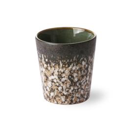HKliving ceramic 70's mug mud