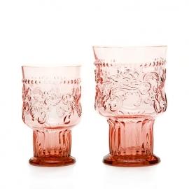 Van Verre Fleur de Lys Fijnzinnig glaswerk Wijnglas bokaal S pink