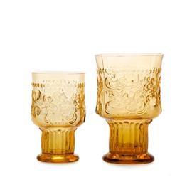 Van Verre Fleur de Lys Fijnzinnig glaswerk Wijnglas Bokaal S Amber