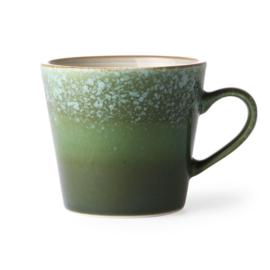 HKliving Ceramic 70's cappucino mug Grass