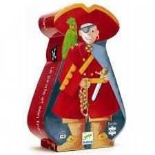 """Djeco oberservatie puzzel """"Piraat"""" 4+"""