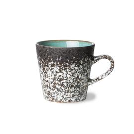 HKliving | 70's Ceramic Americano mug | Mud