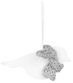 Räder Winterforest Animal bird   Porseleinenhanger vogel
