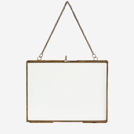MadamStoltz Fotolijst hangend brass
