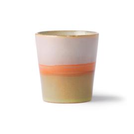 HKlving Ceramic 70's mug Saturn