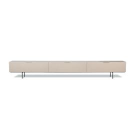 HKliving TV Cabinet wood grain 250cm sand