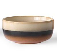 HKliving Ceramic 70's dessert bowl Torando