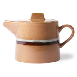 HKliving ceramic 70's teapot Stream