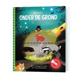 """Zoek- en Voorleesboek """"Speuren onder de grond"""""""