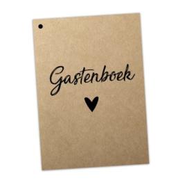 Gastenboek Invulkaarten