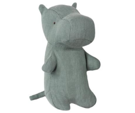 Maileg Noah's Friends, Hippo Mini grey | Noachs vriend Nijlpaard mini grijs