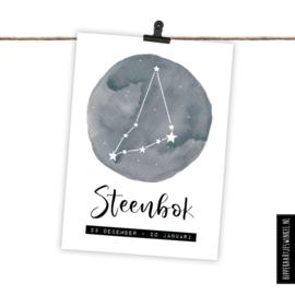 Sterrenbeeldkaart - Steenbok