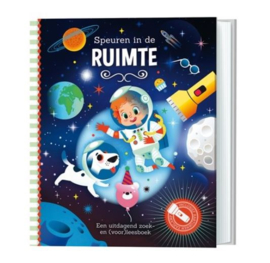 """Zoek- en Voorleesboek """"Speuren in de ruimte"""""""
