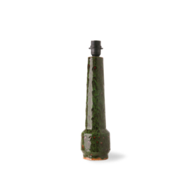 HKliving | Retro stoneware lamp base green