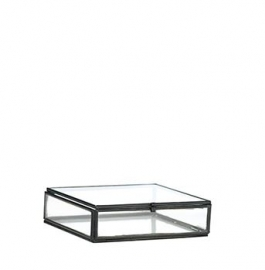Madam Stoltz Glassbox zwart small