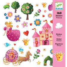 "Djeco Stickers ""Princess"""