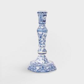 &Klevering Candle Holder delftware | kaarsenkandelaar Delftsblauw
